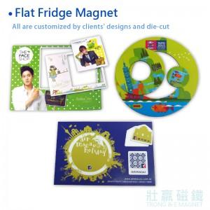 Flat Fridge Magnet